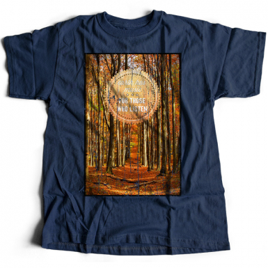 Earth's Music Mens T-shirt
