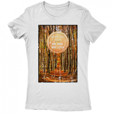 Earth's Music Womens T-shirt