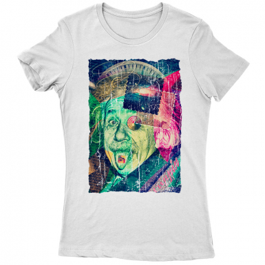 Einstein's Secret Womens T-shirt