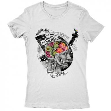 Enlightenment Pending Womens T-shirt