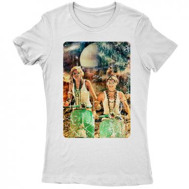 Galactic Cruise Womens T-shirt
