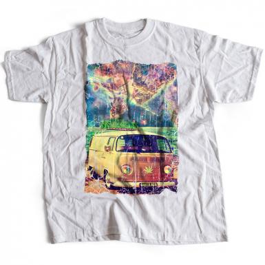 Ganja Bus Mens T-shirt