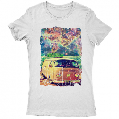 Ganja Bus Womens T-shirt