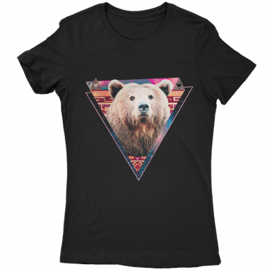 Hip Bear Womens T-shirt