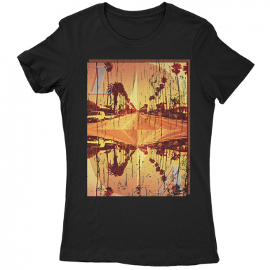 LA Womens T-shirt