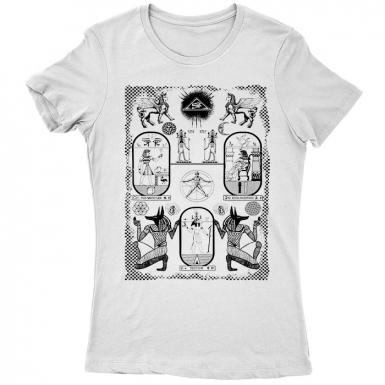 Light Of Khemet Womens T-shirt