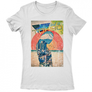 Lost In Tokyo Womens T-shirt