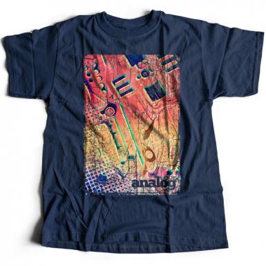 Love Analog Mens T-shirt