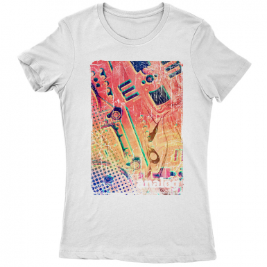 Love Analog Womens T-shirt