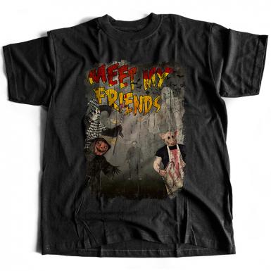 Meet My Friends Mens T-shirt