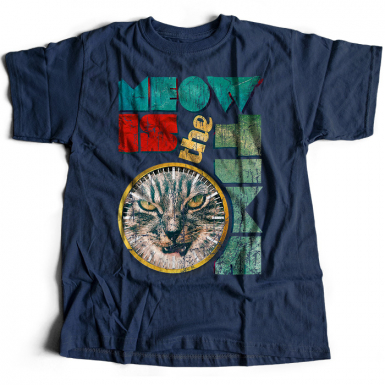 Meow Is The Time Mens T-shirt