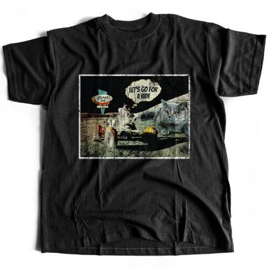 Moon Ride Mens T-shirt