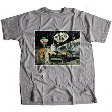Moon Ride Mens T-shirt