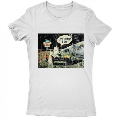 Moon Ride Womens T-shirt
