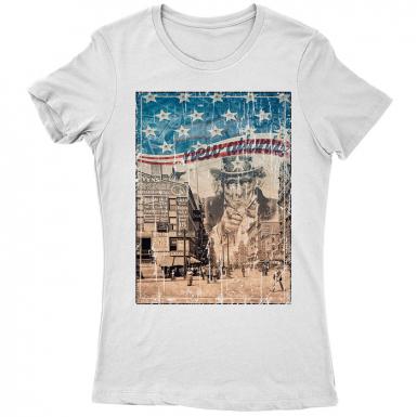 New Atlantis Womens T-shirt