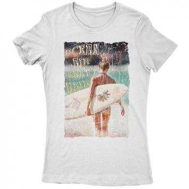 Ocean Air Womens T-shirt