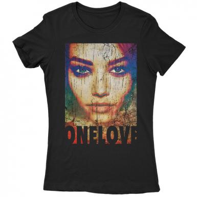 One Love Womens T-shirt