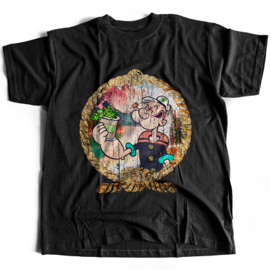 Pop Eye's Secret Mens T-shirt