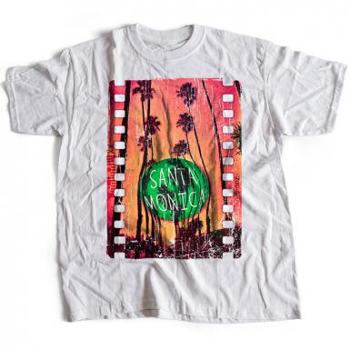 Santa Monica Mens T-shirt