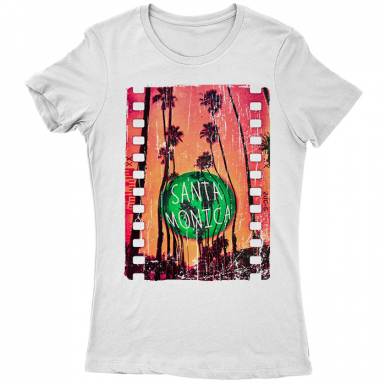 Santa Monica Womens T-shirt