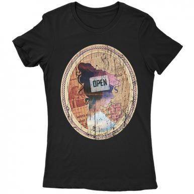 She Speaks Womens T-shirt