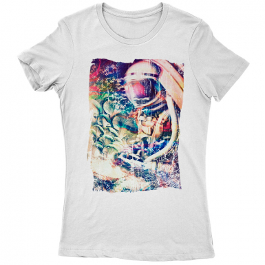 Space Trippin Womens T-shirt