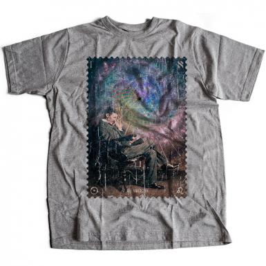 Tesla The Magician Mens T-shirt