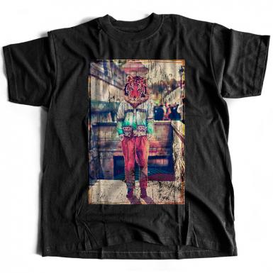 Tiger Head Mens T-shirt