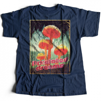 Pixelated Dreams Mens T-shirt