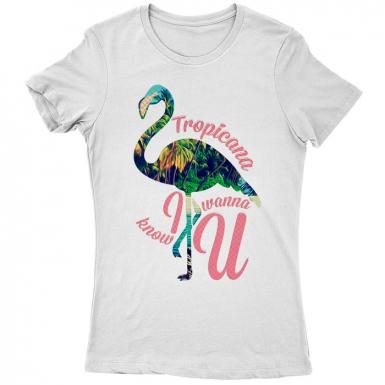 Tropicana Womens T-shirt