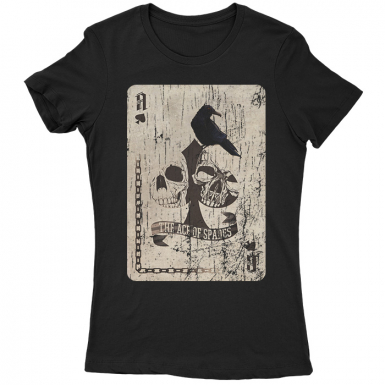 The Ace Of Spades Womens T-shirt