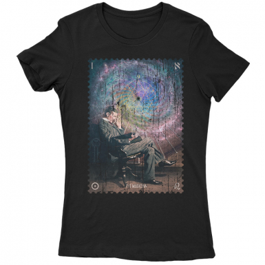 Tesla The Magician Womens T-shirt
