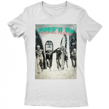 Surf's Up Womens T-shirt