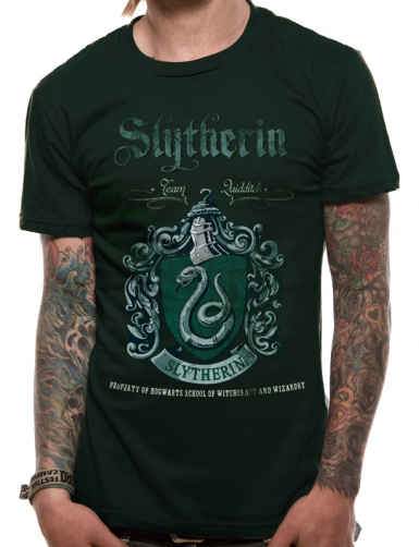 Slytherin Quidditch - Harry Potter Mens T-shirt