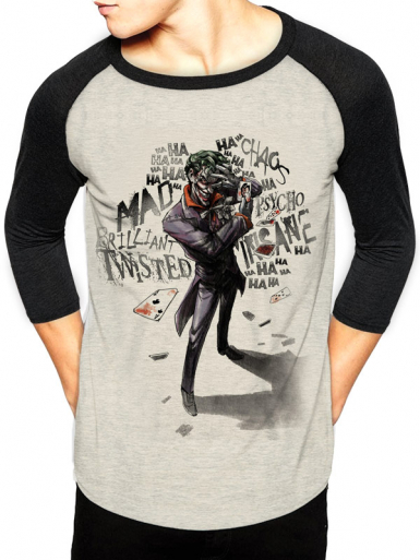 Joker Insane - Batman Mens T-shirt