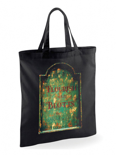 Flourish And Blotts - Harry Potter -  Unisex Tote Bag