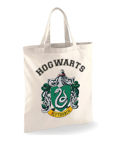 Slytherin Crest - Harry Potter -  Unisex Tote Bag