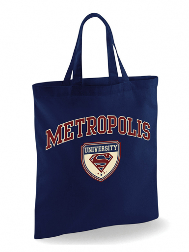 Metropolis University - Superman -  Unisex Tote Bag