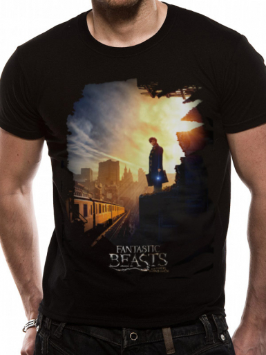 Train - Fantastic Beasts Crimes Of Grindelwald Mens T-shirt