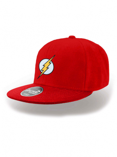 Logo - The Flash- Snapback Cap Unisex Headwear