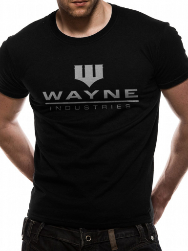 Wayne Industries - Batman Mens T-shirt