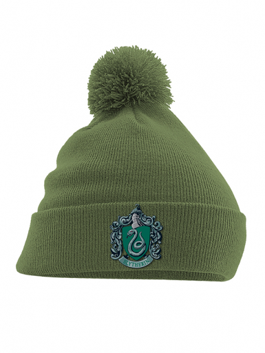 Slytherin Crest - Harry Potter - Pom Pom Unisex Headwear