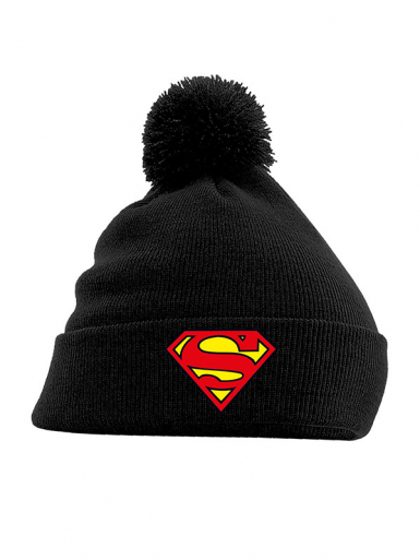 Logo - Superman - Pom Pom Unisex Headwear