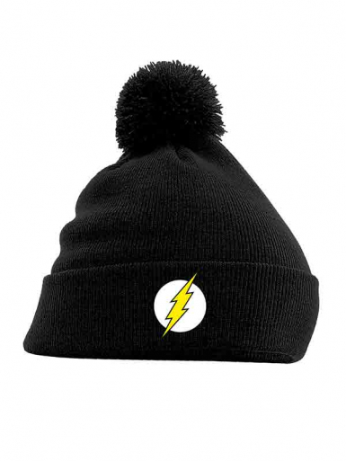 Logo - The Flash - Pom Pom Unisex Headwear