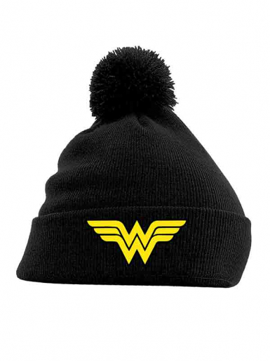 Logo - Wonder Woman - Pom Pom Unisex Headwear