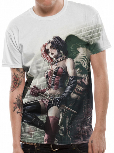 Harley Wall Art - Suicide Squad Mens T-shirt