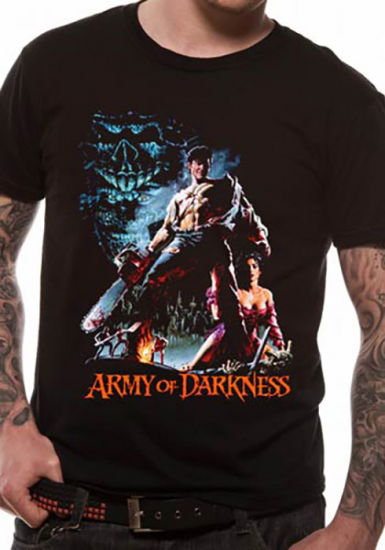 Chainsaw - Army Of Darkness Mens T-shirt