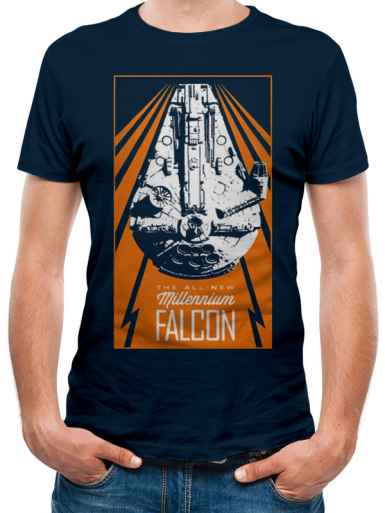 Millennium Falcon - Star Wars Mens T-shirt