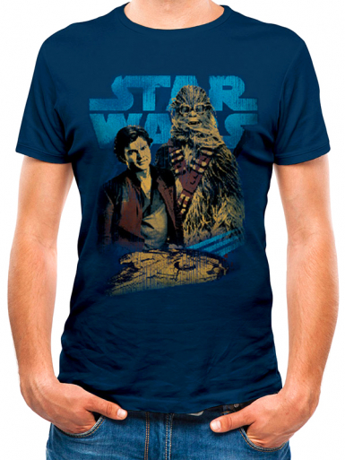 Han Solo & Chewie - Star Wars
