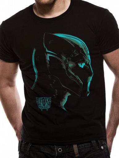 Neon Face - Avengers Infinity War Mens T-shirt